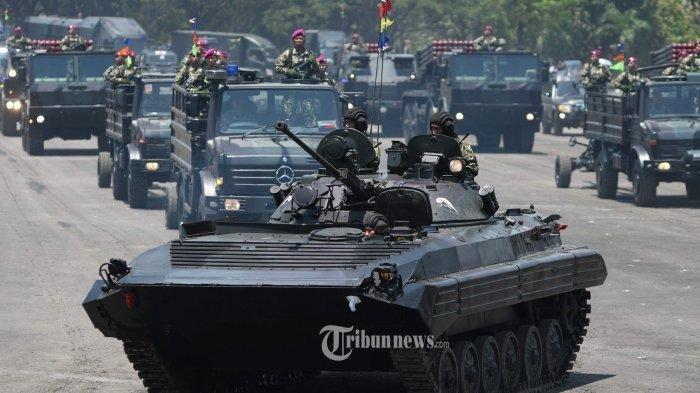 Militer Indonesia Masuk 20 Besar Terkuat di Dunia dan Jadi Nomor Satu di Asean, Berikut Daftarnya