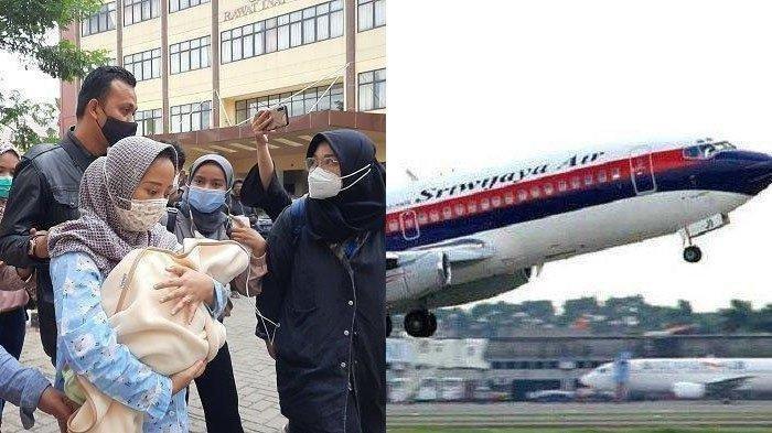 Keluarga korban Pesawat Sriwijaya Air bawa bayi 7 hari untuk jalani pengambilan sampel Ante Mortem di RS Polri Kramat Jati