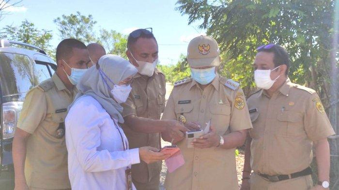 Wali Kota dan Tim Kementerian PUPR Tinjau Lahan Relokasi Korban Bencana di Manulai II