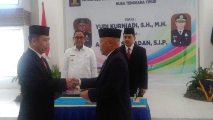 Achmad Samadan Jadi Plt Kakanwil Kemenkumham NTT