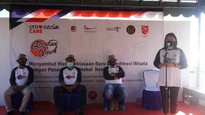 Kemenparekraf Serahkan 537 Paket BaLaSa dan Laksanakan Gerakan BISA di Kabupaten Sikka