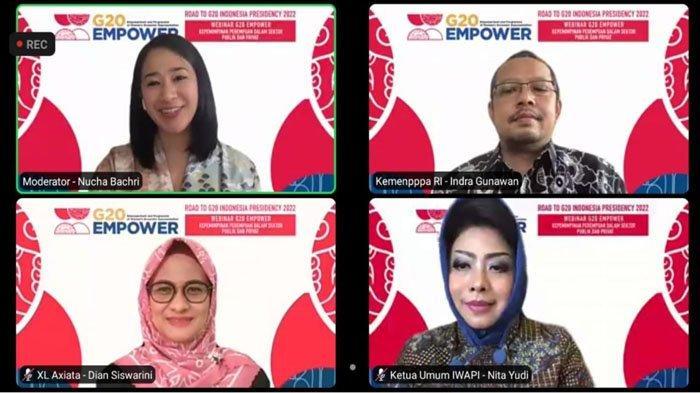 Kementerian PPPA RI, XL Axiata, dan IWAPI Sepakat Pentingnya Berdayakan Perempuan