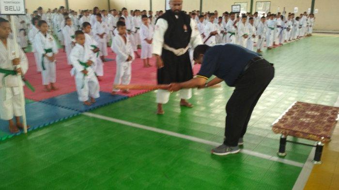 Kejuaraan Shorinji Kempo HUT ke-60 Provinsi NTT ! 815 Kenshi Tampal di GOR Futsal
