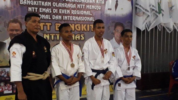 Raih 8 Medali Emas! Atlet Kempo Kota Kupang Mendominasi