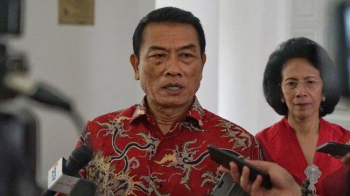 Moeldoko Maafkan Hairul Anas Suaidi, Ponakan Mahfud MD Yang Bersaksi di MK