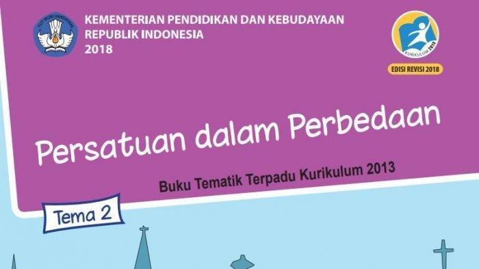 Kisi Kisi Jawaban Soal Uts Pts Tema 2 Kelas 6 Sd Buku Tematik Persatuan Dalam Perbedaan Pos Kupang