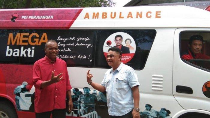 Jokowi Kampanye di  Kupang, Sekjen  TKN dan Krisdayanti  di  Maumere