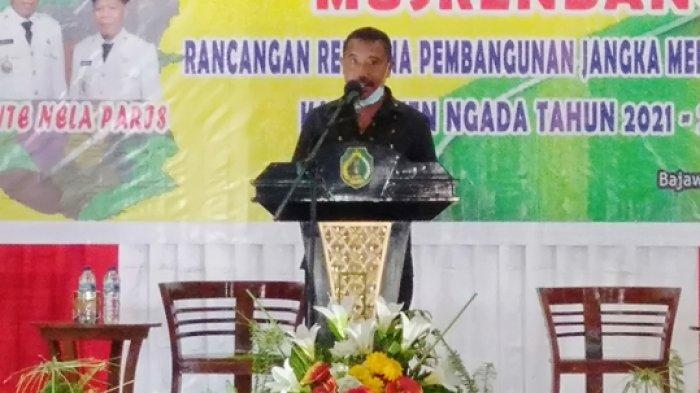 Ketua DPRD Berharap Penyusunan RPJMD Ngada 2021-2026 Juga Memperhatikan Pokir DPRD