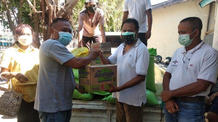 ISKA Kota Kupang Salurkan Bantuan ke Posko KAKUntuk Korban Badai Seroja