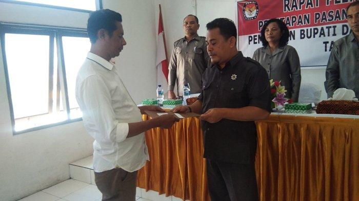 KPU Tetapkan Paket Marsel-Jafar Sebagai Bupati dan Wakil Bupati Ende Terpilih