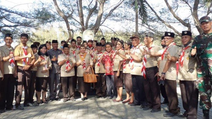 Bupati Kodi Mete Siap Mendukung Kiprah Pramuka di Sumba Barat Daya
