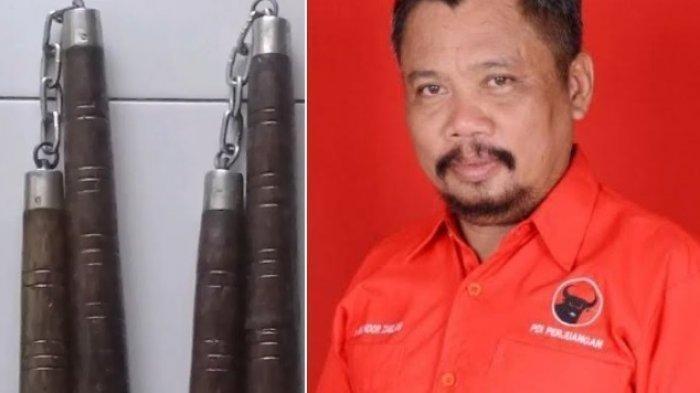 Tabiat Buruk Ketua PDIP Takalar Dikecam, Pukul 2 Anggota DPRD Pakai Double Stick,Kini jadi Tersangka