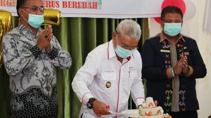 PMI Kota Kupang Rayakan HUT ke 75, Simak Harapan Pak Ketua PMI Kota Kupang