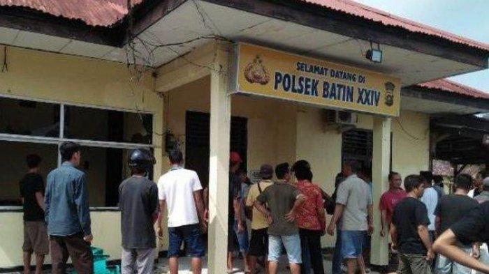 Ketua PPP Batanghari Meninggal setelah Duel dengan Perampok, Massa Rusak Polsek Batin XXIV