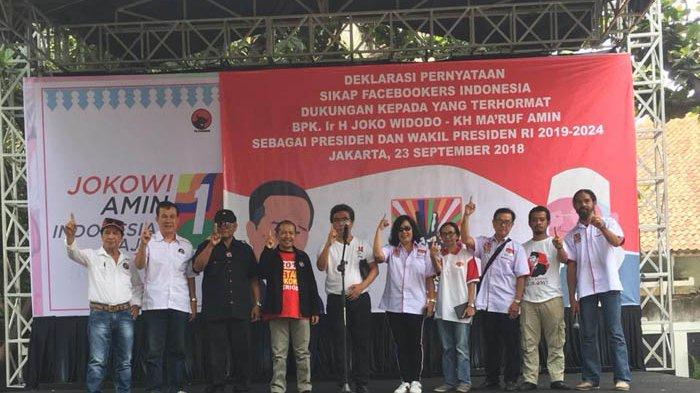 Facebookers Indonesia Dukung Jokowi-Ma'ruf Amin