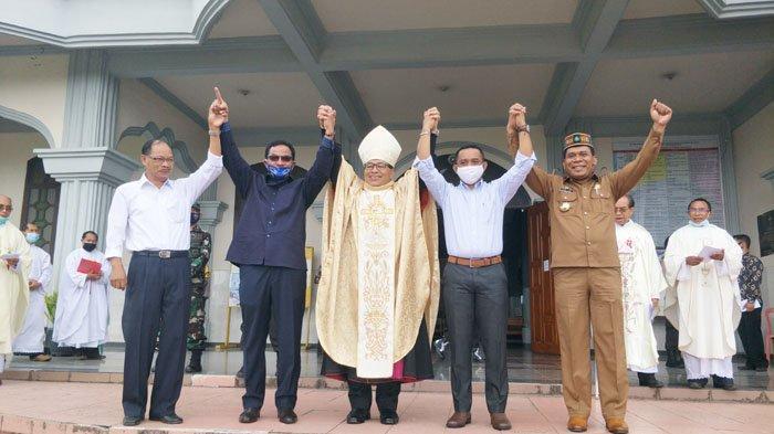 Seperti Ini Suasana Deklarasi Pilkada Damai Yang Digelar Keuskupan Ruteng