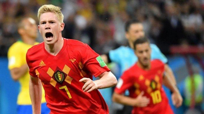 Nonton Belgia vs Inggris Rebut Juara Tiga Piala Dunia 2018, Live Streaming Lewat HP