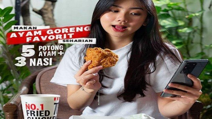 Promo KFC Selasa 6 April 2021, 4 Potong Chicken Strip Rp 29.091, 9 Potong Ayam Mulai Rp 59.091