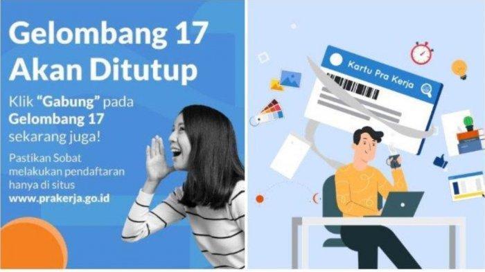 Cek Info Lolos Kartu Prakerja Gelombang 17 di www.prakerja.go.id, Ini Jadwal Pengumumannya