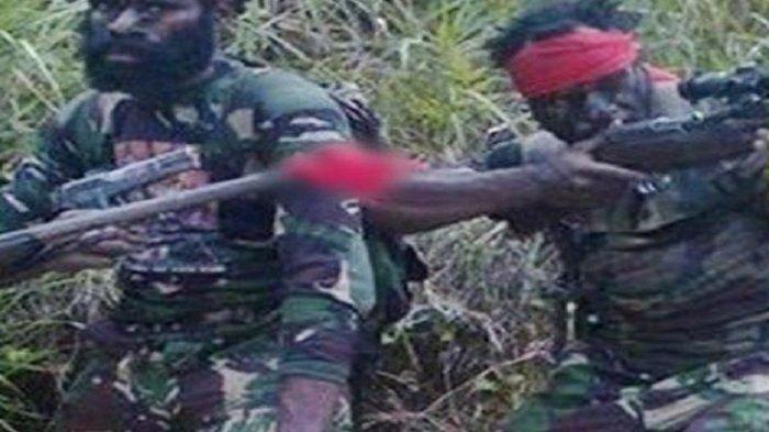 KKB Papua Ngamuk, Tembaki TNI-Polri, Balas Dendam Tewasnya Hengki Wuamang, Aparat Jalan Kaki 2 Hari