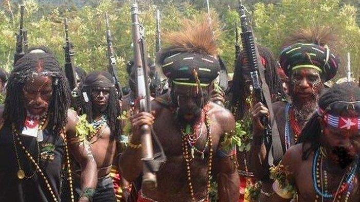 Berkoar Siap Perang, KKB Papua di Ilaga Tak Berdaya Dipukul Mundur TNI-Polri,1 Anggota KKB Tertembak