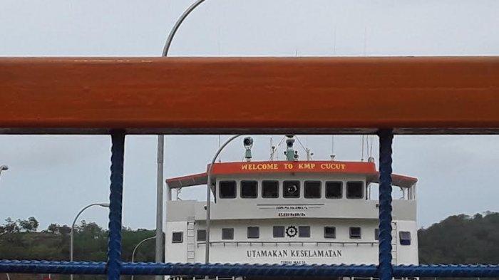 Dihantam Badai, KMP Cucut Menuju Sape Balik Kembali ke Labuan Bajo