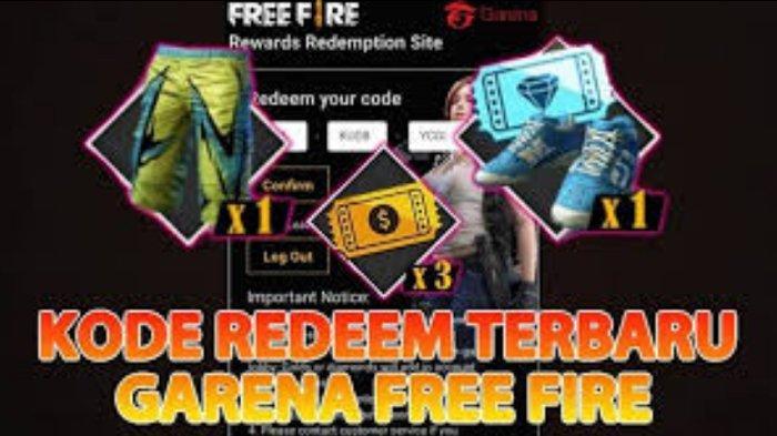 Update KODE REDEEM FF 20 Oktober 2020, Klaim Kode Redeem Oktober 2020 Login Reward Free Fire Garena