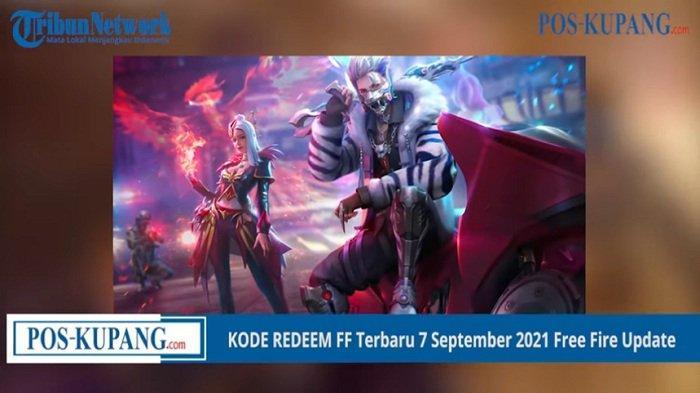 Update Kode Redeem Hari Ini 13 September 2021, Cara Tukar Kode Redeem Free Fire