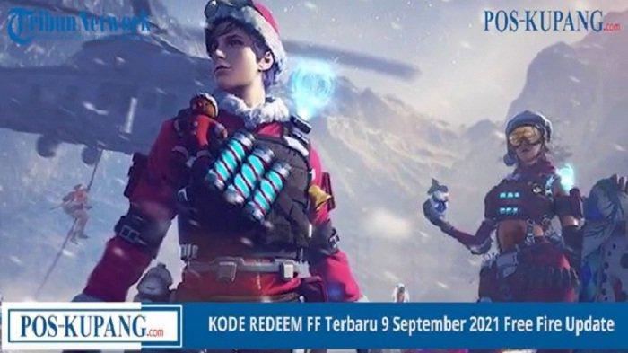 Kode Redeem Free Fire Besok Jumat 10 September 2021, Cara Tukar dan Klaim di reward.ff.garena.com/id