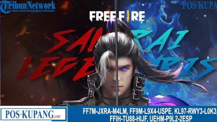 Kode Redeem FF Jumat 7 Mei 2021, Segera Klaim Kode Redeem Free Fire Terbaru dan Terlengkap