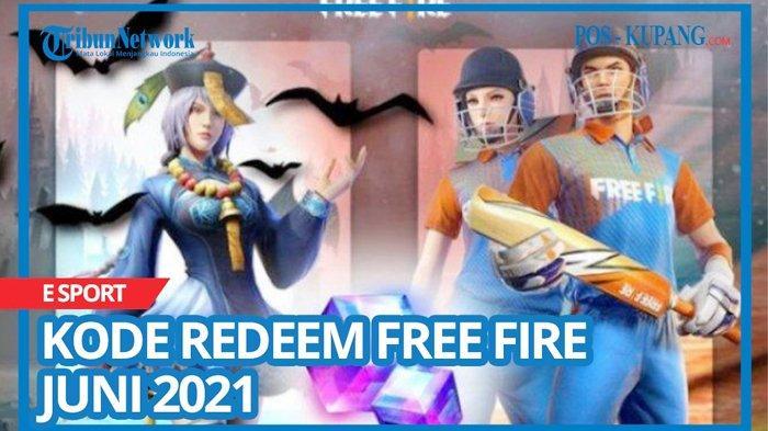 Update Kode Redeem FF Hari Ini 18 Juni 2021, Buruan Tukar Kode Redeem Free Fire Terbaru