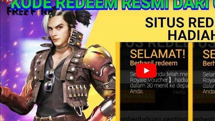 Kode Redeem FF 31 Maret 2021, Silakan Tukar Kode Redeem Free Fire Terbaru