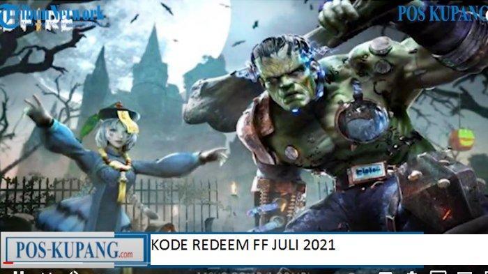 Update Kode Redeem FF 2 Juli 2021, Buruan Tukar Kode Redeem Free Fire Terbaru dan Belum Digunakan