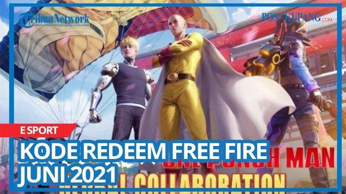 Kode Redeem FF 6 Juli 2021, Buruan Tukar Kode Redeem Free Fire Terbaru