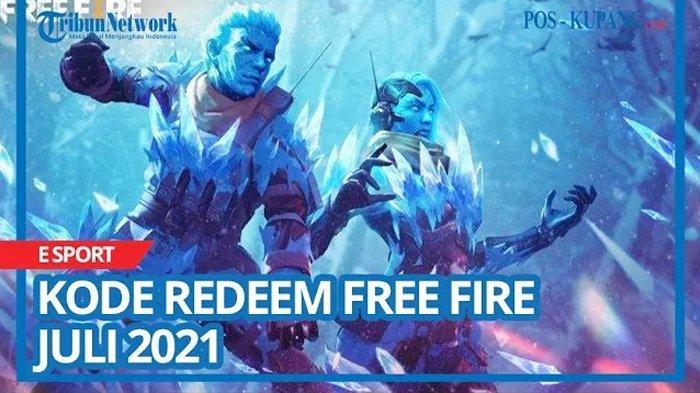 Update Kode Redeem FF 9 Juli 2021, Buruan Tukar Kode Redeem Free Fire Terbaru dan Belum Digunakan
