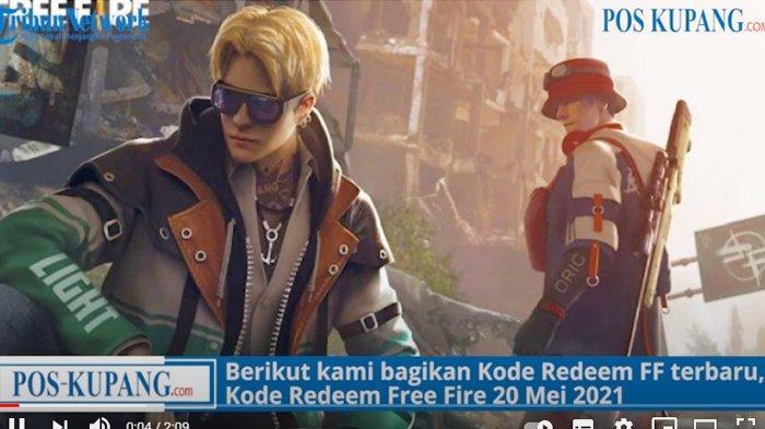 Update Kode Redeem FF 24 Mei 2021, Buruan Klaim Kode Redeem Free Fire Terbaru