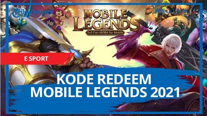 Update Kode Redeem ML Besok Minggu 4 April 2021, Klaim Kode Redeem Mobile Legends Terbaru