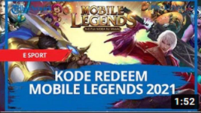 Kode Redeem ML 4 April 2021, Tukarkan Redeem Code Mobile Legends dari Moonton, Ada Skin Gratis