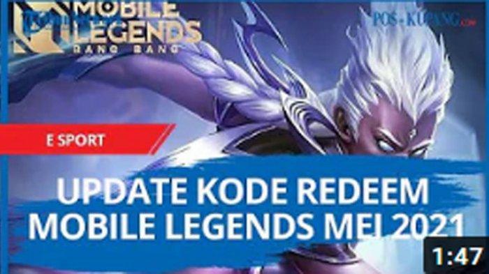 Kode Redeem ML 15 Mei 2021, Syarat Klaim Kode Redeem Mobile Legends Yang Masih Bisa Dicoba