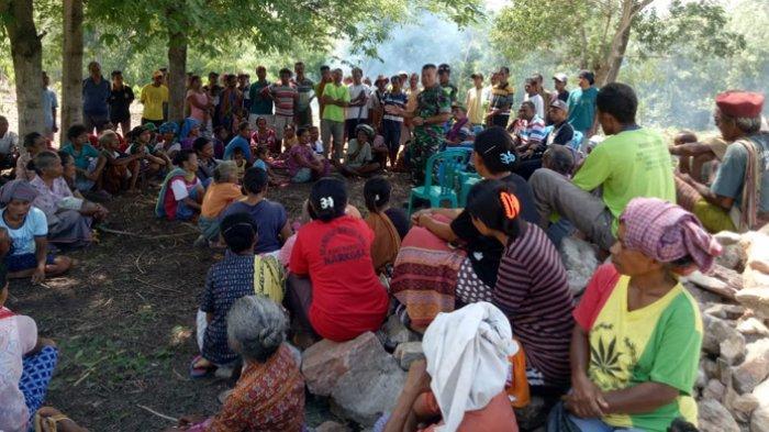 Kodim 1618 TTU Sosialisasi Kegiatan TMMD ke-107 di Desa Nian