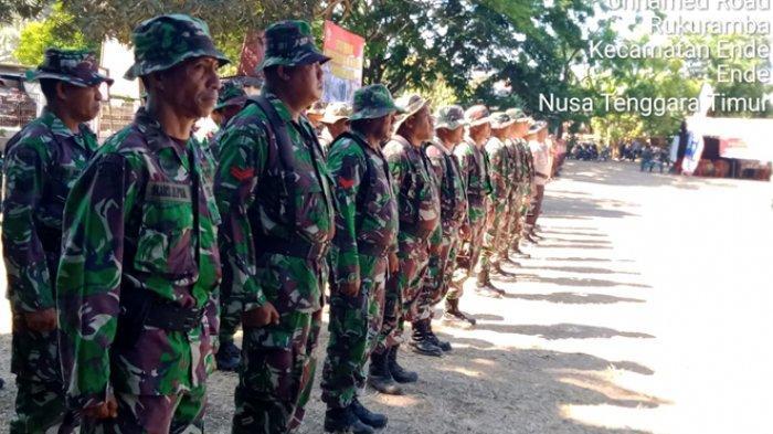 Kodim Ende Gelar Kegiatan Pembinaan Teritorial Terpadu di Dua Desa, Ini Pesan Bupati Ende
