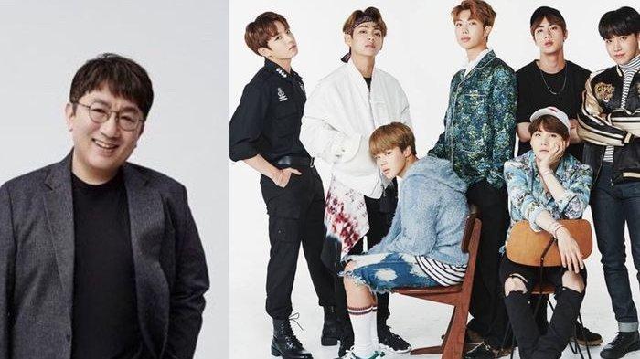 Inilah 3 Momen Lucu Saat BTS Ketahuan Bergosip Tentang Bang Si Hyuk dan Agensi