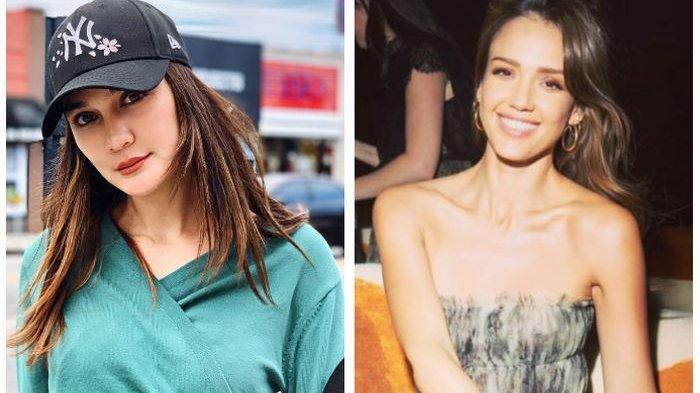Cantiknya Luna Maya Didandani Penata Rias Artis Hollywood, Jessica Alba pun Terpikat