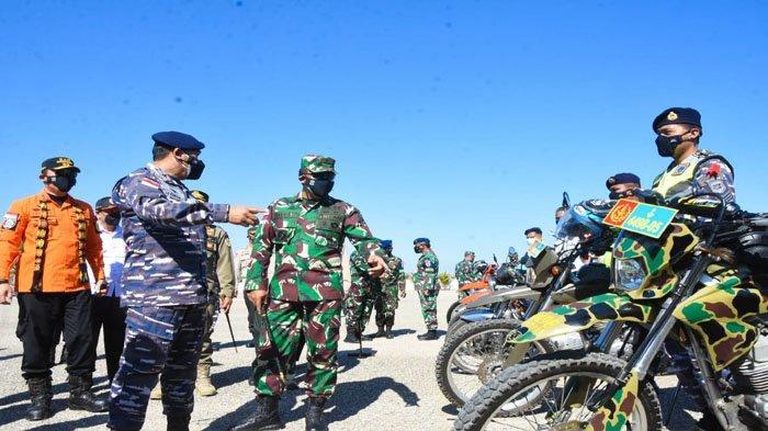 Komandan Korem 161/Wirasakti Kupang Hadiri Kegiatan Gelar Latgulben di Lantamal VII/Kupang