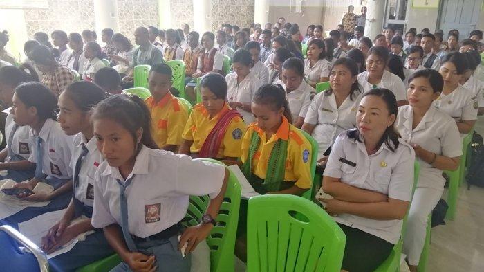 Kominfo Libatkan Remaja Malaka Turunkan Stunting