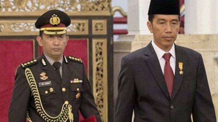 Komjen Listyo Sigit saat jadi ajudan Presiden Jokowi