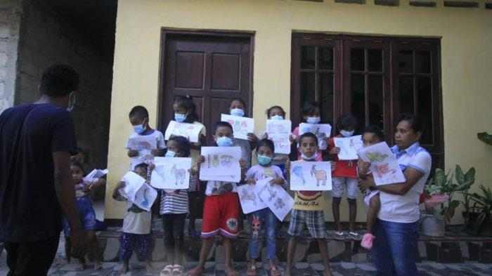 Komunitas Peace Maker Pulihkan Mental Anak di Tunbaun Kabupaten Kupang
