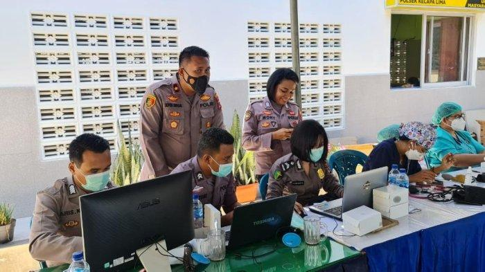 Cakupan Vaksinasi Covid19 di Kota Kupang Dosis II Sebanyak 159.723 Orang atau 47 Persen