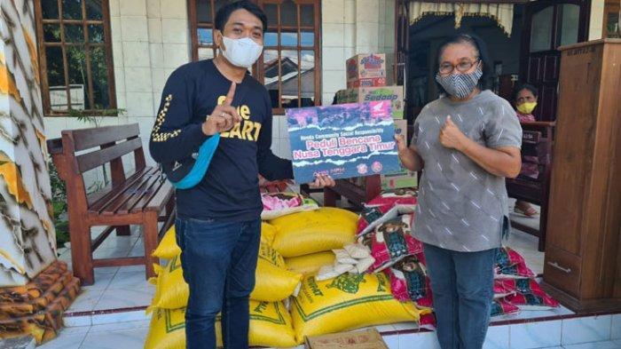 Komunitas Honda NTT Bantu Korban Bencana Banjir NTT dan Bukber Bersama Anak Yatim