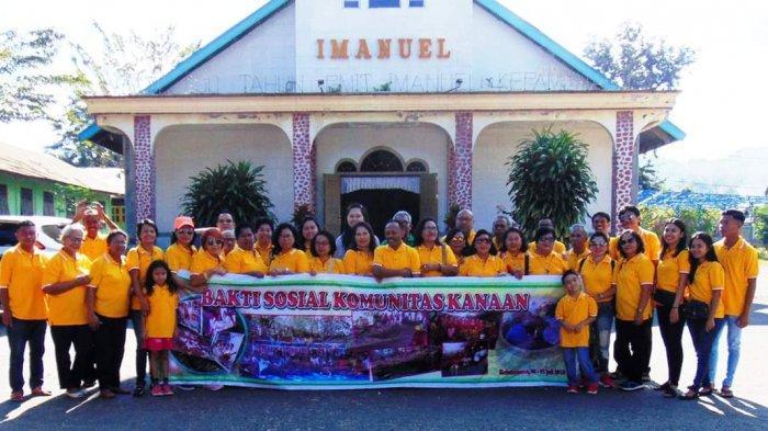 Tiga Hari Komunitas Kanaan Bakti Sosial di Kefa